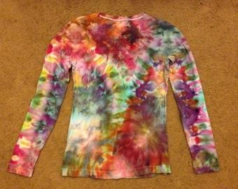 Tie dye longsleeve shirt