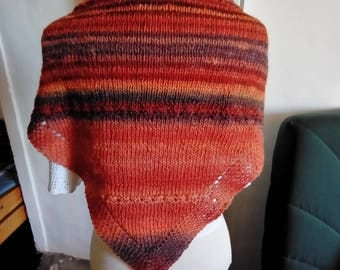 Soft and warm pure woolen shawl 22