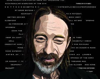 Thom Yorke OK Computer Print