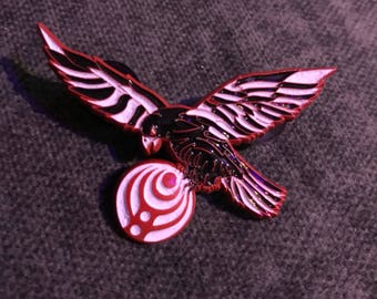 NYE ATL Falcon Pin Red