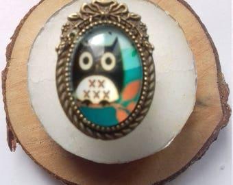 """OWL"" ring"