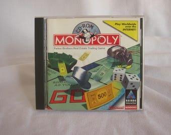 Vintage MONOPOLY CD-ROM 1996