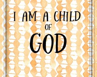 I Am A Child of God (2-English)