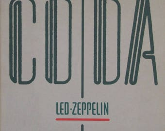 Led Zeppelin Framed vinyl - Coda 1982