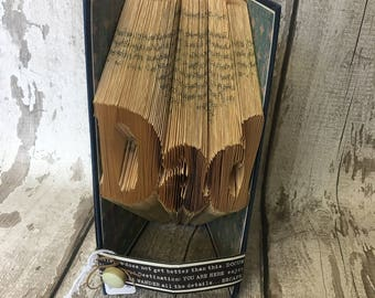 "handmade book folding ""dad"""