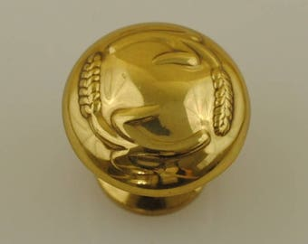 Solid Brass Drawer Pull 1 Piece