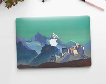 "Nicholas Roerich, ""Morning Star"". Macbook Pro 15 cover, Macbook Pro 13 cover, Macbook 12 cover. Macbook Pro cover. Macbook Air cover."