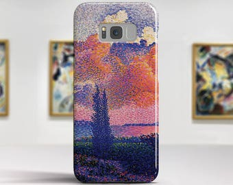 "Henri Edmond Cross, ""The Pink Cloud"". Samsung Galaxy Note 8 Case Google Pixel XL Case LG G6 case Galaxy A3 2017 Case and more."