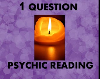 FAST Psychic Reading of one question