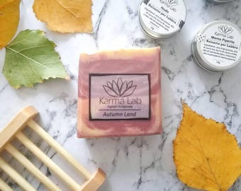 Autumn Land Handmade Soap, All Natural Soap, Artisan Soap, Cold Process Soap, Handcrafted Soap, Wedding Soap Favors, Christmas Gift Ideas