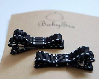 Black Fancy Hair clips
