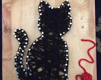 String art cat