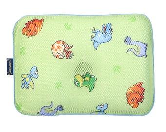 Gio Pillow infant newborn baby Pillow for prevent flat head - Jurassic
