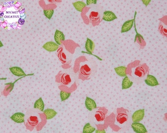 FREE GIFT with Purchase - Riley Blake Kewpie Floral/Pink/Cotton/ Fabrics / Sewing/ Quilting/ Quilt