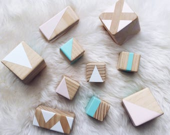 Wooden Stacking Blocks