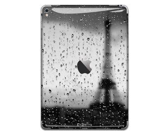 Rain drop Paris iPad Skin Sticker city iPad Case iPad Decal eiffel tower iPad Cover art iPad Sticker iPad Air iPad Pro 9.7 12 IPA033