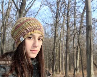 Crochet Slouchy Beanie