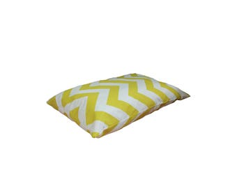 Yellow Pet Pillow Bed