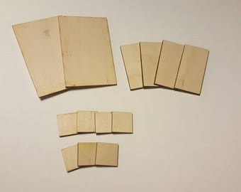 Square and Rectangular Miniature Bases