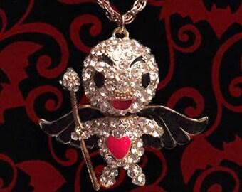 Betsey Johnson Vampire Necklace