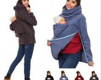 f6b6f14d80b jacket with baby pouch