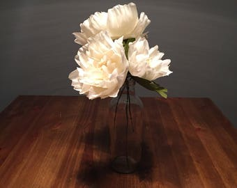 Crepe Peony Bud for Bouquets or Centerpieces