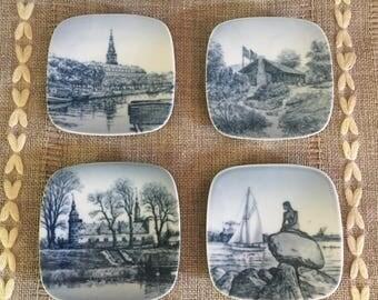 Vintage Dutch Copenhagen B & G souvenir plates