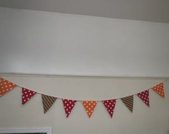 Polka Dot Bunting/ Striped Bunting/ Flags/ Party Decoration/ Bunting