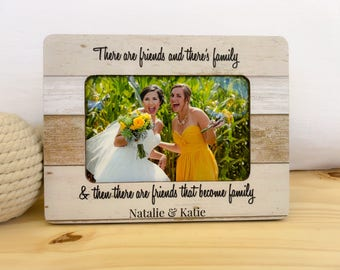 Sister In Law Wedding Thank You Frame Gift Maid of Honor Gift Bridesmaids Gift. Sister in law Frame. Bridesmaid Thank you Frame
