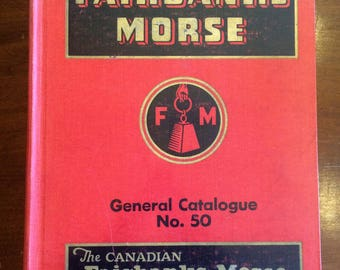 1950, Antique Fairbanks Morse General Catalogue No. 50