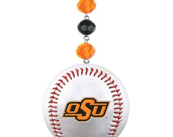 Oklahoma State University *Baseball* Magnetic Ornament,Osu Cowboys,Osu,Osu Ornament,Osu Pistol Pete,Osu Cowboys,OSU decor,OSU gift