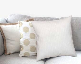 Neutral Pillow - Decorative Pillow - Textured Pillow - Boho Accent Pillow - Pillow Sham - Pillow Cover White - Home Decor - Accent Pillow