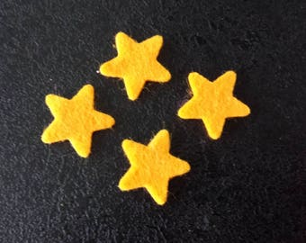 small felt stars