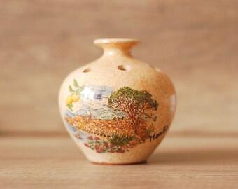 vintage ceramic vase froma soud french