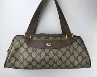 Vintage GUCCI Speedy Handbag with Classic GG Monogram