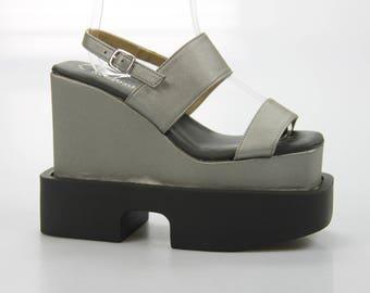 Luichiny plateau / Sandals / high heels shoes size. 36