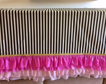 kate spade ruffle tablecoth sweet sixteen ruffle tablecloth channel and white