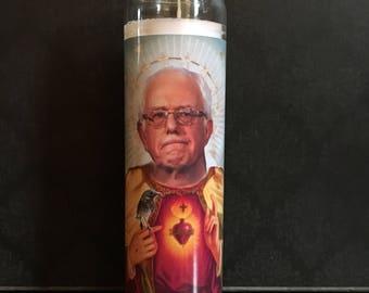 Bernie Sanders Prayer Candle