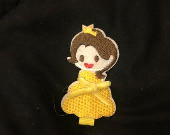 Princess Inspired hair clip