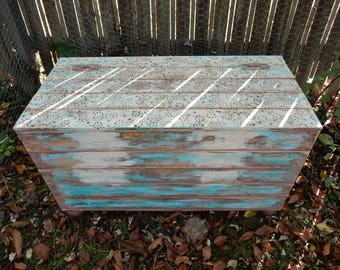 Large Storage Trunk, Storage Bench, Coffee Table Trunk, Shabby Chic  Furniture, Bohemian