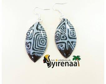 Polymer ethnic earrings