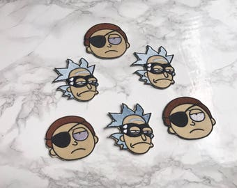 Rick and Morty patches LIMITED 50