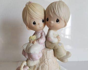 Vintage Precious Moments 1978 Love One Another