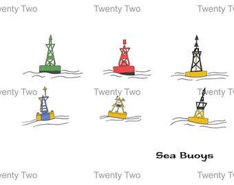 Sea Navigation Buoys