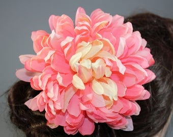 "Vintage inspired rockabilly hair flower/Hairflower ""Amy II"""
