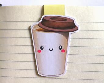 Coffee || Magnetic Bookmark