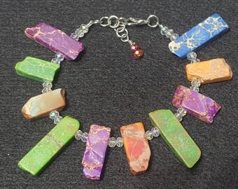 Jasper Stick Beads