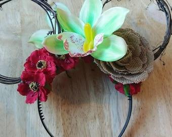 WAYFINDER Flower Crown Mouse Ears