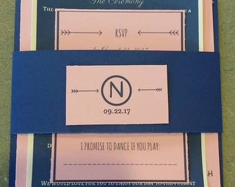 Set of 200 Wedding Invitation