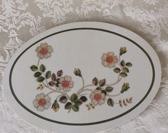 Melamine Casserole Stand - Trivet Made in England 1970s St Michaels